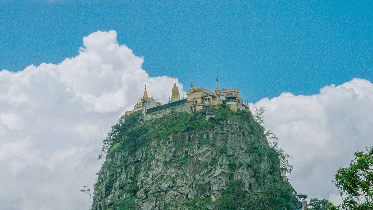 Monastery at Mt. Popa