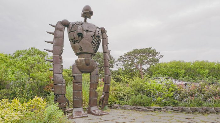 The giant from Castle in the Sky at Ghibli Museum