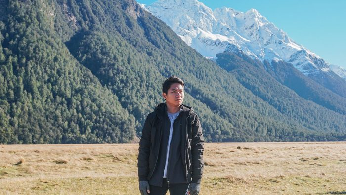 Me at a stopover somewhere in Fiordland